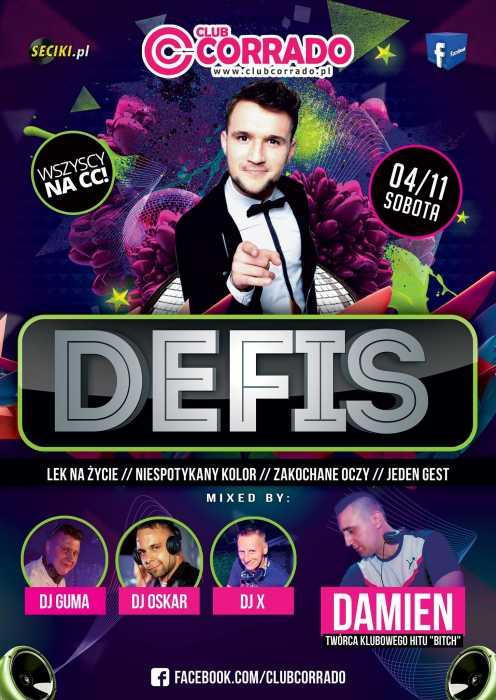 Corrado Suchowola - Koncert Zespół Muzyczny DEFIS (4.11.17) - kluby, festiwale, plenery, klubowa muza, disco polo