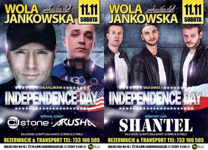 Jankowska Club (Wola Jankowska)  - INDEPENDENCE DAY (11.11.2017) - kluby, festiwale, plenery, klubowa muza, disco polo