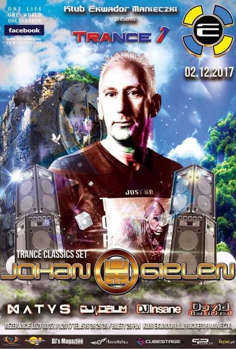 Ekwador Manieczki - TRANCE 1 (02.12.2017) - kluby, festiwale, plenery, klubowa muza, disco polo