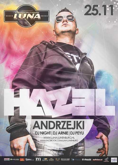 Luna (Lunenburg) - Hazel (25.11.2017) - kluby, festiwale, plenery, klubowa muza, disco polo
