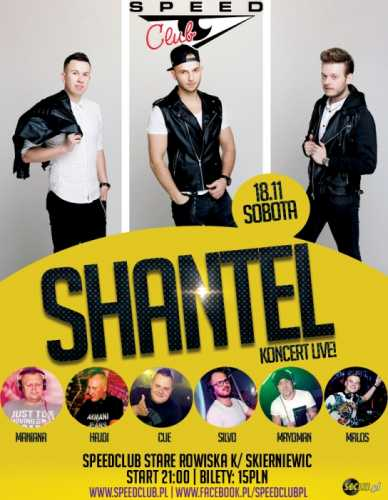 Speed Club - Koncert SHANTEL [Dacar Stage] 18.11.2017