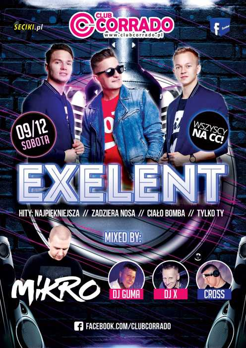 Corrado (Suchowola) - Exelent & Mikro // Mikołajki (9.12.2017) - kluby, festiwale, plenery, klubowa muza, disco polo