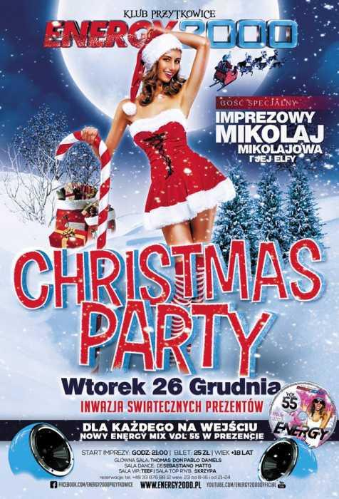 Energy 2000 (Przytkowice) - Christmas Party (26.12.2017) - kluby, festiwale, plenery, klubowa muza, disco polo
