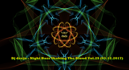 Dj dzeju - Night Bass Shaking The Blood Vol.29 (03.12.2017)