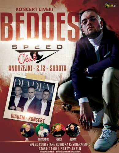 Speed Club - Koncert DIADEM [Dacar Stage] 02.12.2017