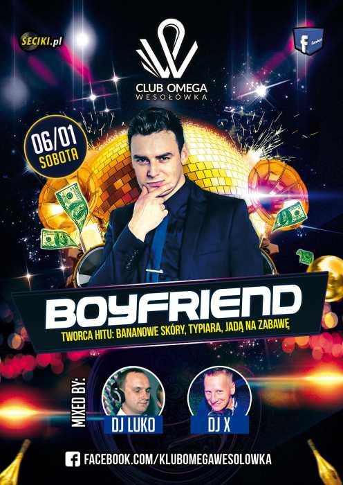 Klub OMEGA Wesołówka -  zespół  Boyfriend  (6.01.2018)