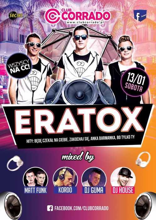 Corrado (Suchowola) - Koncert Grupa Muzyczna EratoX (13.01.2018) - kluby, festiwale, plenery, klubowa muza, disco polo