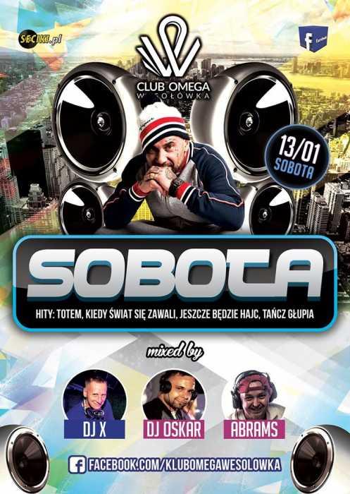 Klub OMEGA Wesołówka - Koncert Sobota (13.01.2018 ) - kluby, festiwale, plenery, klubowa muza, disco polo