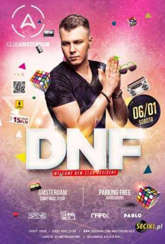 Amsterdam Club (Łakie) - DNF (06.01.2017)