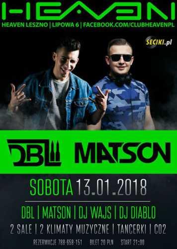 Heaven (Leszno) - Matson (13.01.2018)