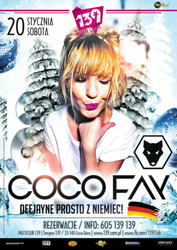 Multi Club 139 Śmigno - COCO FAY (20.01.2018)