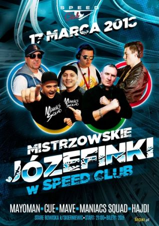SPEED CLUB STARE ROWISKA # MANIACS SQUAD (17.03)