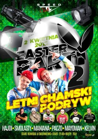 Speed Club - EASTER PARTY pres. DZIEN II 02.04.2018