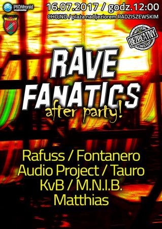 Rafuss - Plaża Chojno Rave Fanatics After Party 16.07.2017