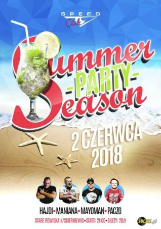 Speed Club - SUMMER PARTY SEASON 02.06.2018