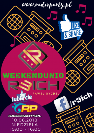 WEEKENDunio with R3ICH in RADIOPARTY 10.06.2018