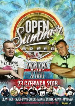 SpeedClub - OPEN SUMMER [Rain Stage] 23.06.2018