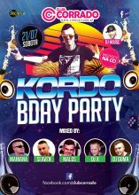 Club Corrado (Suchowola) - KORDO B-Day Party (21.07.2018)