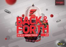 Euforia Festivals (Toruń) - Back & Forth 3.0 (14.10.2017)