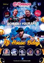 Club Corrado Suchowola - Yourant , Górski , Sequence - House B-day (11.08.2018) - kluby, festiwale, plenery, klubowa muza, disco polo