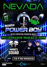 Club Nevada Nur - Power Boy & Maniacs Squad (1.09.2018)