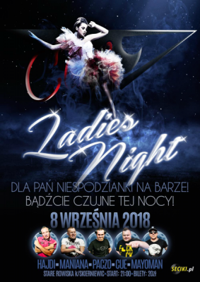SpeedClub - LADIES NIGHT 08.09.2018