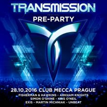 Transmission (Prague)  - 'The Lost Oracle' (28.10.2016)