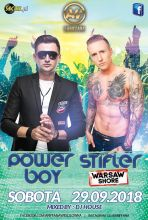 Club Ariffana Wesołówka - Koncert Power Boy (29.09.2018)