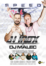 Speed Club - Dj INOX & Dj MALEC 22.09.2018