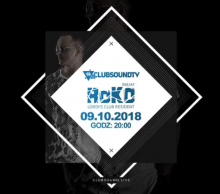 Clubsound Management - ROKO (9.10.2018)