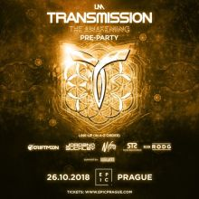 Pre-party: Transmission 'The Awakening' 26.10.2018 Prague