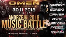 Klub Omen (Płośnica) - MUSIC BATTLE (30.11.2018)