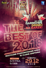 Club Ariffana Wesołówka - THE BEST OF 2018 (29.12.2018) - kluby, festiwale, plenery, klubowa muza, disco polo