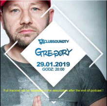 Clubsound Management - Gregory (29.01.2019)
