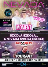Club Nevada Nur - Moment & DJ Yourant (2.02.2019) - kluby, festiwale, plenery, klubowa muza, disco polo
