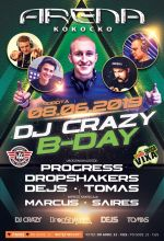 Arena Kokocko - B-DAY CRAZY (8.06.2019)