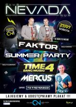 Club Nevada Nur Faktor🔹 Mercus (27.07.2019) - kluby, festiwale, plenery, klubowa muza, disco polo