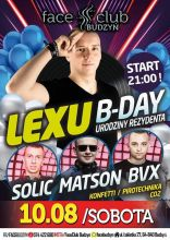 Face Club Budzyń - Lexu b-day (10.08.2019)