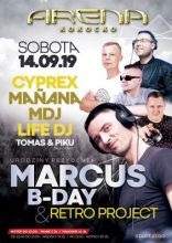 Arena Kokocko - (Marcus B Day Party) (14.09.2019)