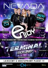 Club Nevada Nur - Enjoy & Terminal Sound (26.10.2019) - kluby, festiwale, plenery, klubowa muza, disco polo