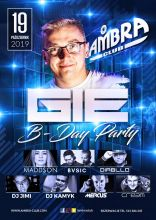 Ambra (Blichowo) - Dj Gie B-DAY Party (19.10.2019)
