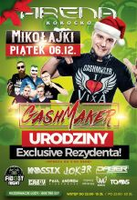 Arena Kokocko - Gashmaker B-day Party (6.12.2019)