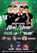 Club Corrado - Przesmyki - BEFORE NEW YEAR (28.12.2019) - kluby, festiwale, plenery, klubowa muza, disco polo