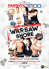Energy2000 - MTV Warsaw Shore On Tour 26.10.2013