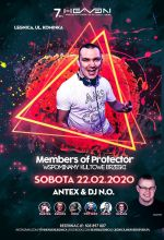 7th Heaven (Legnica) - Dj Antex (22.02.2020)