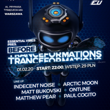 Tranceformations (Warsaw) - onTune (01.02.2020)
