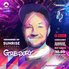 Promowany : Memories of Sunrise Festival - GREGORY (10.05.2020)