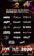 We Are Family We Are Online - Sunrise Festival (24-26.2020) - kluby, festiwale, plenery, klubowa muza, disco polo