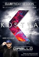 Kostya & Diabllo - Club Friday Session (13.11.2020)