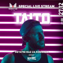 MANHATTAN CLUB - SPECIAL LIVE STREAM (27.12.2020)
